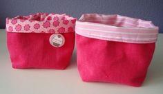 *Tutorial* Nicollie's Mandje Baby Sewing Projects, Sewing Patterns For Kids, Sewing Tutorials, Sewing Crafts, Bag Pattern Free, Sewing Baskets, Baby Baskets, Fabric Bags, Fabric Basket