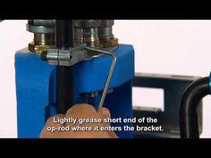 Lubricating the Dillon Precision RL550B - YouTube