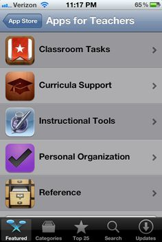 Attention all iPhone users: There are Apps for Teachers on the App Store! The apps include fun games, organizational tools, and even PowerSchool. I am so glad this was finally discovered (well, technically I have to give my boyfriend the credit for the discovery). Go check it out! Oh, and have a splendid Monday.