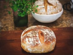 [ Overnight Sourdough Bread For many people home bakers, making a great loaf of sourdough bread seem Sourdough Recipes, Bread Recipes, Overnight Sourdough Bread Recipe, Gluten Free Sourdough Bread, Starter Recipes, Vegan Bread, Fermented Foods, Fermented Bread, How To Make Bread