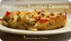 Hashbrown Breakfast Casserole-- egg free!