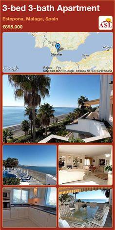 3-bed 3-bath Apartment in Estepona, Malaga, Spain ►€895,000 #PropertyForSaleInSpain