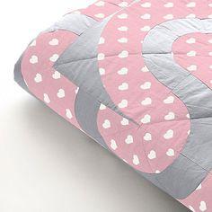 Fat Quarter - Classic Hearts 1,5 cm, 11 - Baumwolle - rosa