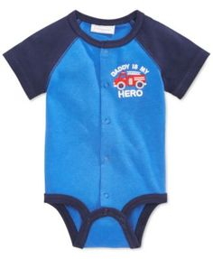 First Impressions Baby Boys' Hero Creeper, Only at Macy's   macys.com