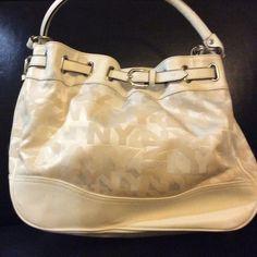 NY and Company purse White Purse with NY&Company Signature Bags