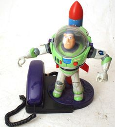 Vintage Buzz Lightyear Retro Toy Story Corded  Home Phone | eBay