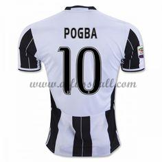 Neues Juventus 2016-17 Fussball Trikot Pogba 10 Kurzarm Heimtrikot Shop  Paul Pogba a237a9b66