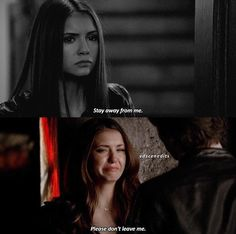 "The Vampire Diaries || 5x22 || Damon ""dies"" and leaves everyone behind, especially Elena."