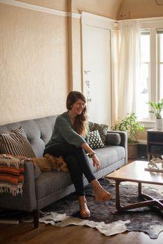 Joanna's Natural & Inviting Irvington Apartment — House Tour | Apartment Therapy