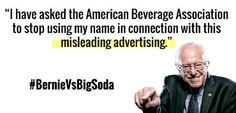 Bernie vs Big Soda?