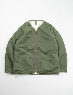 VISVIM Olive Iris Liner Jacket