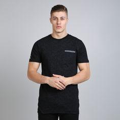 Matrix Midline Pocket T-shirt - Black  // Click the link to buy or for more info - https://www.king-apparel.com/new-collection/t-shirts/matrix-midline-pocket-t-shirt-black.html