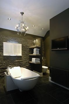1000 images about badkamer on pinterest wands grey tiles and bathroom - Badkamer donker ...
