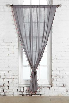 Magical Thinking Fluro-Tassel Curtain #urbanoutfitters