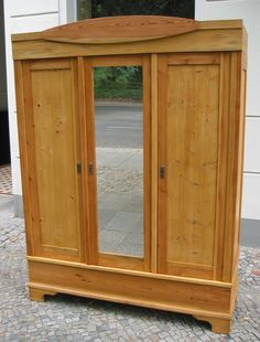Spectacular Kleiderschrank Weichholz Bauhaus T rer mit Spiegel Bauhaustuerer