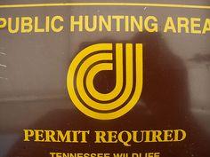 Public Hunting Area.