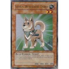 Yugioh Shiba-Warrior Taro Ultra Rare Card