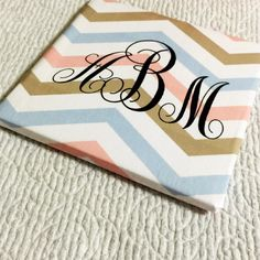 Wedding coasters party favors wedding favorstile by AshMarProjects