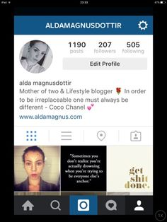 CHECK THOSE PHOTOS OUT! My Week @ IG. | Alda Magnús.