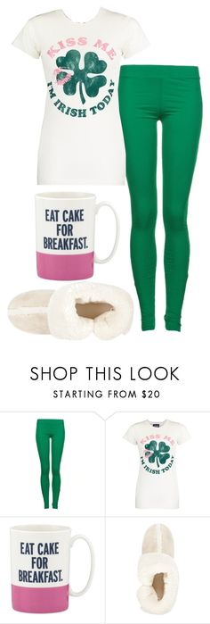 """""""Lazy Day"""" by slythergirl ❤ liked on Polyvore featuring St Martins, Junk Food Clothing, Kate Spade and River Island"""