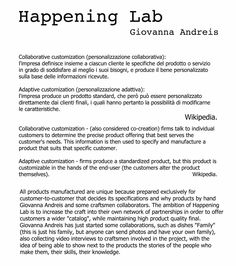Happening Lab. About.