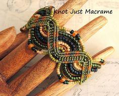 Giveaway:  Micro Macrame bracelet made by Sherri Stokey of Knot Just Macrame.