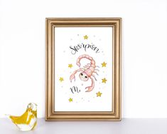 Frame, Illustration, Animals, Etsy, Home Decor, Paper, Lute, Picture Frame, Wall Prints