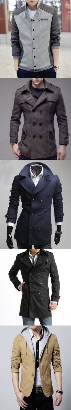 Men's fashion. Trendy Street style jackets and coats for Men.