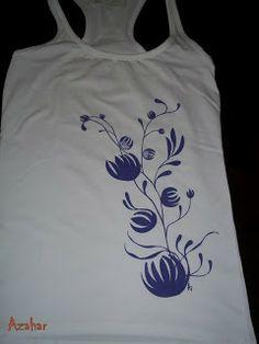 Camisetas juveniles pintadas a mano