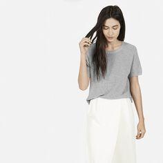 The Cotton Sweater Short Sleeve - Everlane
