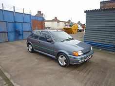 1991 H FORD FIESTA RS TURBO GREY Totally Original 44k 1 Owner Old School 1 Off - http://www.fordrscarsforsale.com/3635