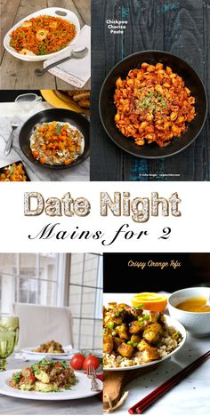Date Night Recipe Roundup - Vegan Main dishes for 2. In total 45 amazing recipes that inspire you for a date night dinner that will blow your sweetheart away. This one with: @veggiesdontbite @kathypatalsky @lifecurrents @veganricha @sebestyen2 @deliciouseveryd @RebeccaGF666 @ashleymelillo @namelymarly @veganosity @connoisseurus @gfveganpantry