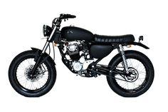 Back in black Custom Motorcycles, Custom Bikes, Honda Tiger, Deus Ex Machina, Cafe Racer Motorcycle, Honda Cb, Back To Black, Bobber, Motorbikes
