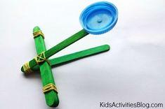 For kids to make vbs crafts, craft stick crafts, crafts for boys, Vbs Crafts, Crafts For Boys, Camping Crafts, Crafts To Do, Projects For Kids, Diy For Kids, Craft Projects, Craft Ideas, Preschool Crafts