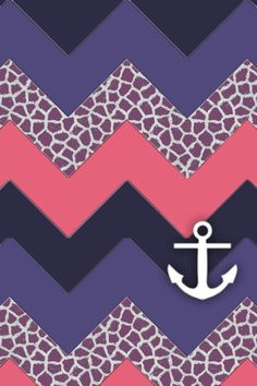 iPhone Background chevron anchor wallpaper