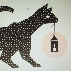 #kohtivaloa #kaamos #2016 #illustration #design #cat #yearplanner #polkkajam
