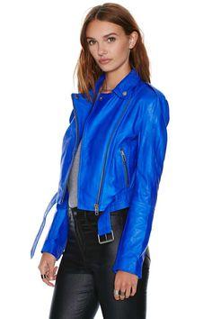 Muubaa Sembri Leather Jacket