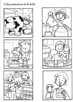 Fotó: ciclo productivo de la leche