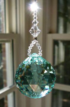 Swarovski Crystal Figurines, Swarovski Crystals, Sun Catchers, Crystal Wind Chimes, Hanging Crystals, Light Pull, Mobiles, Crystal Ball, Glass Art