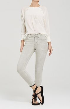d0e8185689bb4 Rocket Crop High Rise Skinny in Sunbaked Shorts Inseam