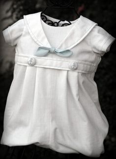 Reserved for Georgia  BOY Blessing / Christening Outfit SAILOR NAUTICAL. $60.00, via Etsy.