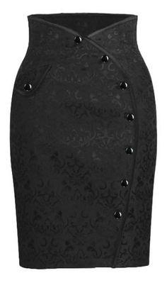 Side button Skirt - Chic Star desgin by Amber Middaugh Más Dress Skirt, Dress Up, Diy Vetement, Button Skirt, Work Attire, African Dress, African Fashion, Fashion Dresses, Vintage Fashion