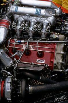Ferrari Engine 1986 Brazil