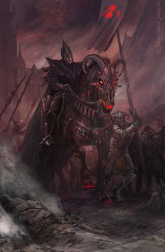 Mouth of Sauron by CG-Warrior on deviantART