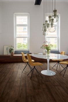104 Best Dining Room Flooring Inspiration Images In 2020 Dining Room Floor Flooring Inspiration Room Flooring