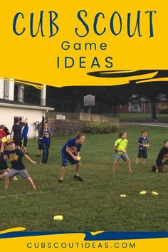 5 Super Fun and Simple Cub Scout Games   Cub Scout Ideas  Cub Scouts Outdoor Games