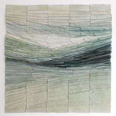 Jeanne Opgenhaffen's unique genius captures even the grandest, most powerful universal forces of evolving nature and presents them undiminished to the viewer on a small scale. Her inspired use of intricate, organic repetition, confined within the rectangle provides us with a precise yet utterly comprehensive definition of natural forces, the...