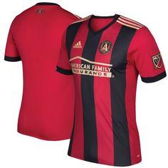 Men's Atlanta United FC adidas Red/Black 2017 Authentic Jersey