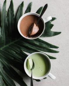 Organic Matcha Green Tea | Coconut Panna Cotta Recipe