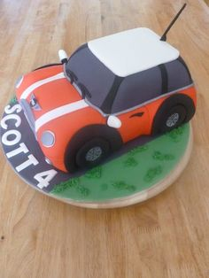 1000 Ideas About Mini Cooper Cake On Pinterest Car